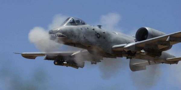 Insane video shows what it's like to get shot at by the A-10 Warthog's 30mm Gatling gun