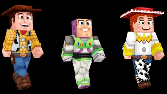 Minecraft Adds Toy Story DLC, Including Skin Of Keanu Reeves' Character