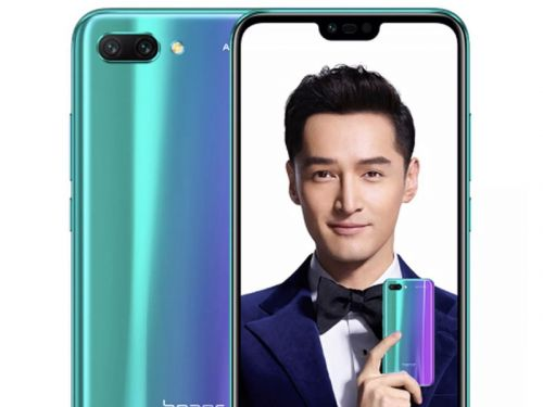 Honor 10 announced with the P20's design and a much lower price