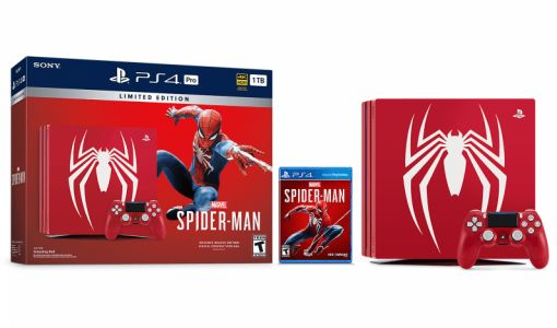Sony announces limited edition 'Amazing Red' PlayStation Pro bundle