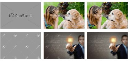 Removing watermarks from stock photos is worryingly easy