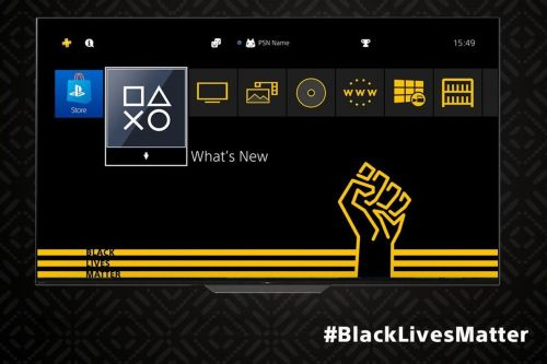 Sony releases free Black Lives Matter PS4 theme