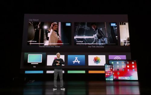 Apple event: iPhone maker launches new credit card and TV streaming service - latest from Steve Jobs Theatre
