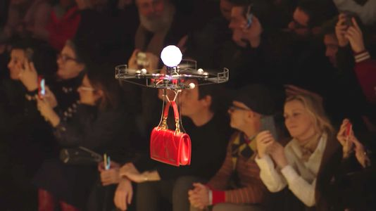 Drones Replace Runway Models at Dolce & Gabbana Fashion Show