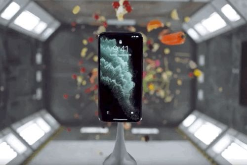 Watch Apple throw cake, and many other things, at the iPhone 11 Pro in its new ads