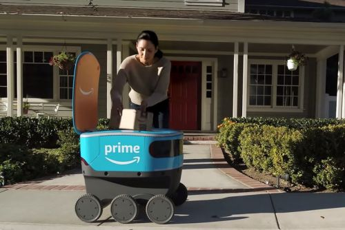 Meet Scout, Amazon's new mail bot for last-mile deliveries