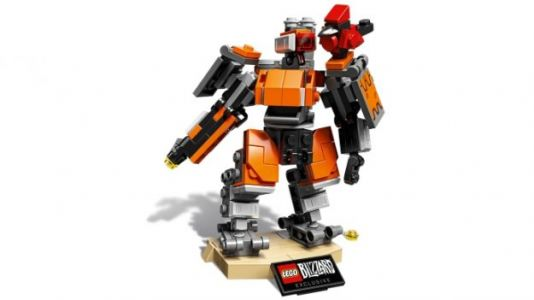 The First Lego Overwatch Set is a Limited Edition Buildable Bastion