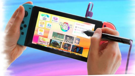 Is the Nintendo Switch about to become a drawing tablet?