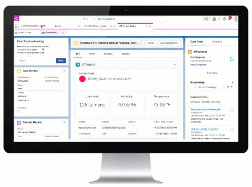 Salesforce wants to deliver more automated field service using IoT data