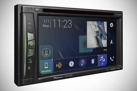 Pioneer's new NEX in-dash receivers take CarPlay or Android Auto fully wireless