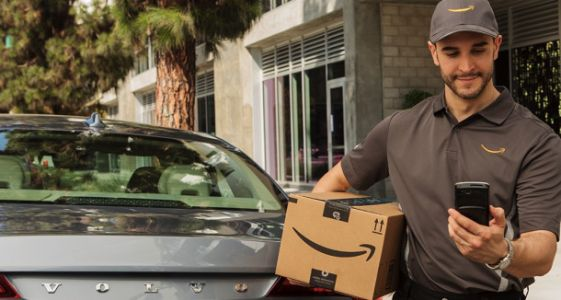You can now have your Amazon Prime deliveries left inside your car
