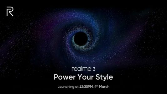 Realme 3 to launch in India on March 4