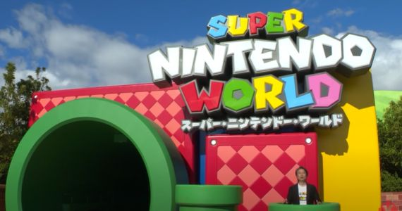 Super Nintendo World with Numerous Rides and Attractions Delayed Opening Due to COVID-19