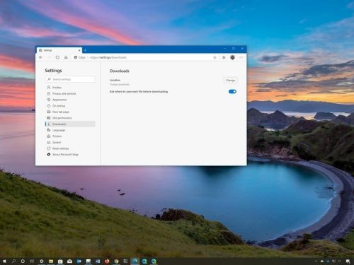 How to handle your downloads in the new Microsoft Edge