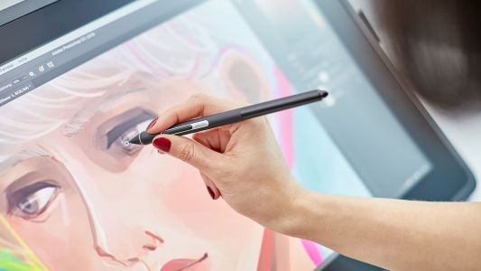 Wacom Cintiq 22 lets you sketch big at a small price - CNET