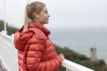 Giga is the down jacket that comes stuffed with 16 useful features