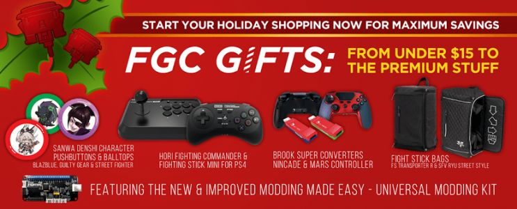 Arcade Shock has a selection of Black Friday Week deals: Discounts on fight sticks, accessories, and more