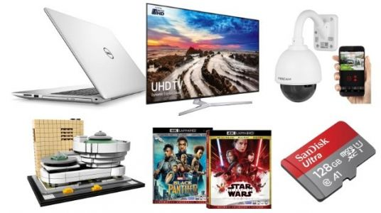 Geek Deals: Cheaper than BF Samsung 55-Inch TV for $550, 4K Black Panther for $25