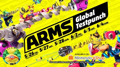 Watch us play the Nintendo Switch 'Arms' Global Testpunch