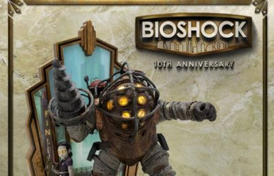 BioShock 10th Anniversary Collector's Edition includes interactive statue