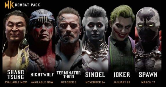 Mortal Kombat 11 gets The Joker and Terminator T-800 soon
