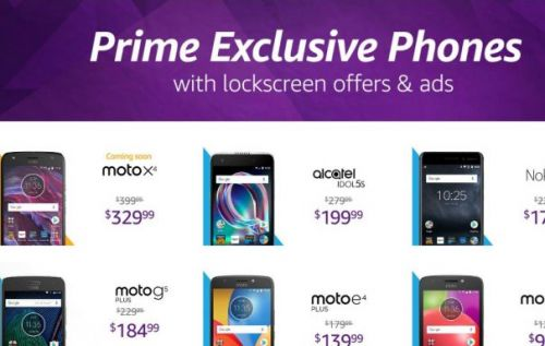 Moto X4 comes to the US with ads via Amazon Prime Exclusive