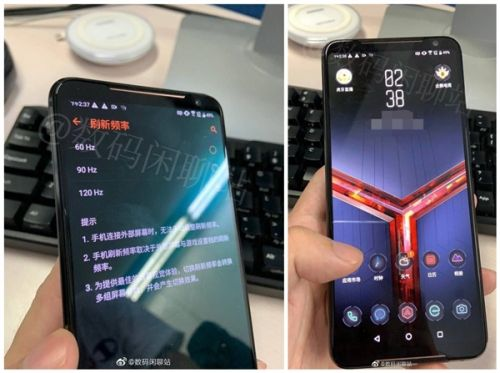 Asus ROG Phone 2 real image with Snapdragon 855+ SoC appears online