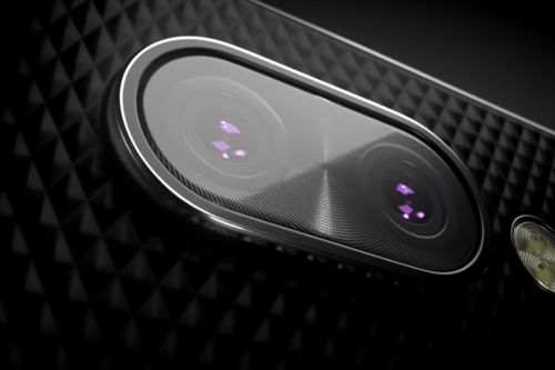 BlackBerry teaser shows the KEY2 Android phone with dual cameras
