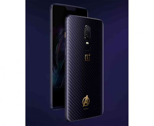 OnePlus 6 Avengers edition unveiled