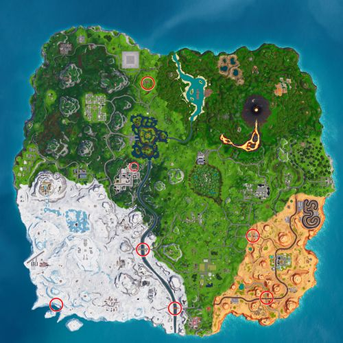 Fortnite Week 8: Where To Search Jigsaw Puzzle Pieces