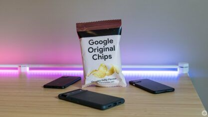 Google Original Chips Review: Can't eat just one
