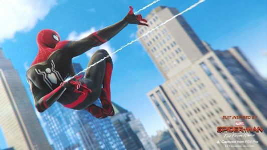 Spider-Man PS4 Adds Far From Home Suits For Free, Out Now