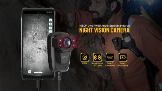 Ulefone Night Vision Camera Unboxing & Hands-On: Video
