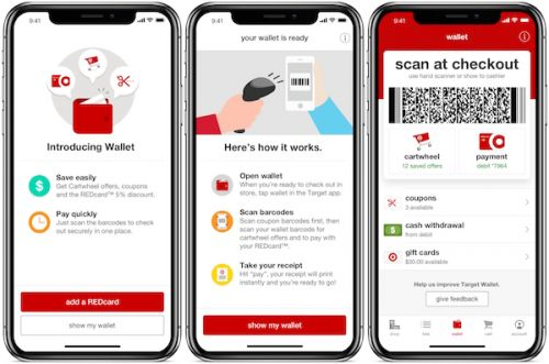 Target's app pairs coupons with its credit card for faster checkouts