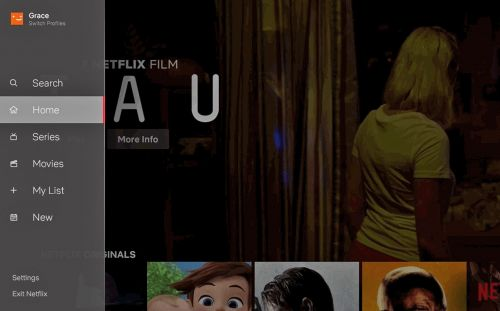 Netflix refreshes TV interface with a handy navigation bar