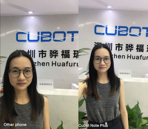 Cubot Note Plus launching soon - first camera samples