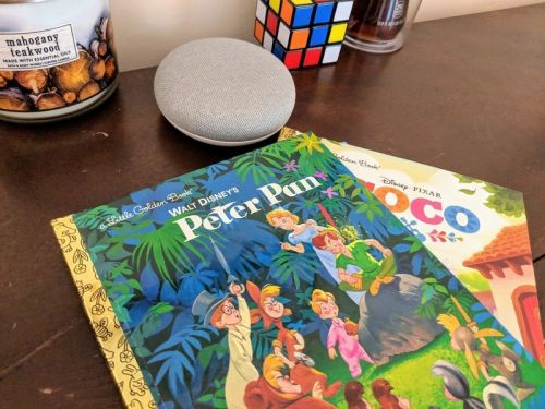 What are the best books to read along with Disney on Google Home?