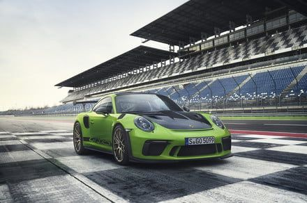 The Porsche 911 GT3 RS is a punk rock cover of an idyllic swan song