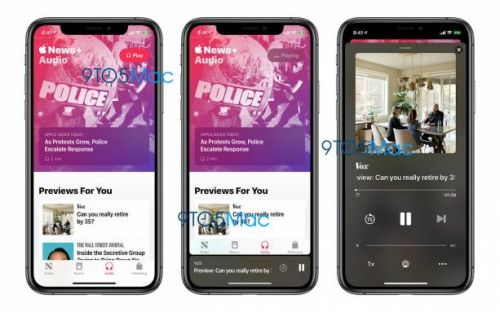 Apple News+ Audio feature might just be a month away