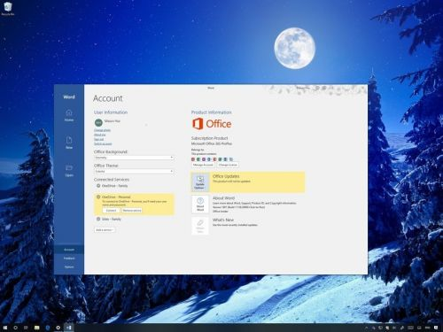 Turn off updates for Office apps