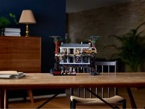 Lego's 'Stranger Things: The Upside Down' set is the best thing you'll see all day