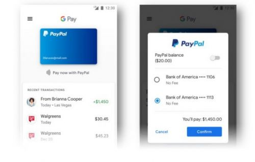 PayPal now works across Google services, no login needed