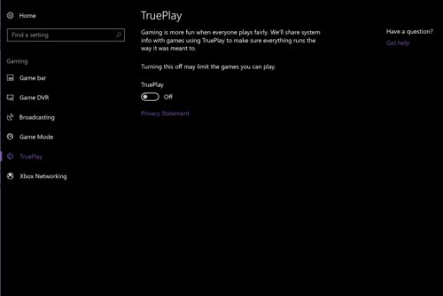 Windows 10's TruePlay gaming tech starts sniffing out cheaters
