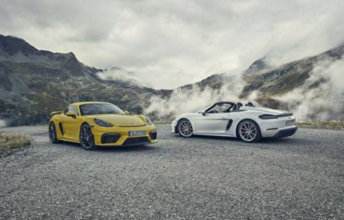 2020 Porsche 718 Cayman GT4 and 718 Spyder flaunt 4.0 flat-six