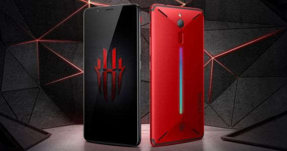 Nubia's new gaming phone gets shoulder buttons and 10GB RAM