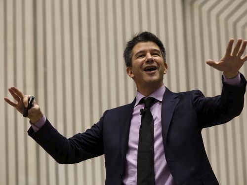 Here's what it was like to watch the play about the downfall of Travis Kalanick with a load of Uber employees