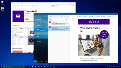 How to set up a Yahoo email account in the Mail app on Windows 10