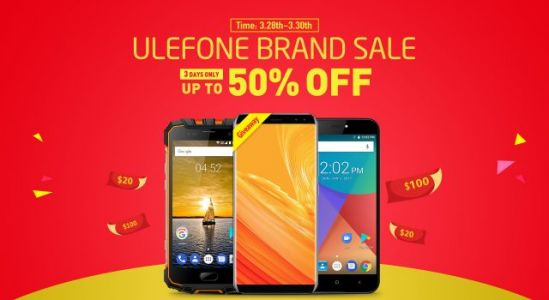 Ulefone Slashes 50% off the Device prices for AliExpress 8 th Anniversary