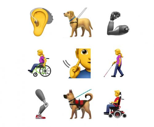 Apple proposes new accessibility emojis, including prosthetic limbs and people with wheelchairs