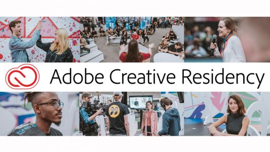 Kick-start your design career with Adobe's Creative Residency